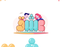 "Adorable typography ""عشق"""