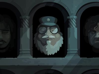 Game of Thrones thrones serial john snow martin illustration game of thrones flat gartman fireart studio fireart