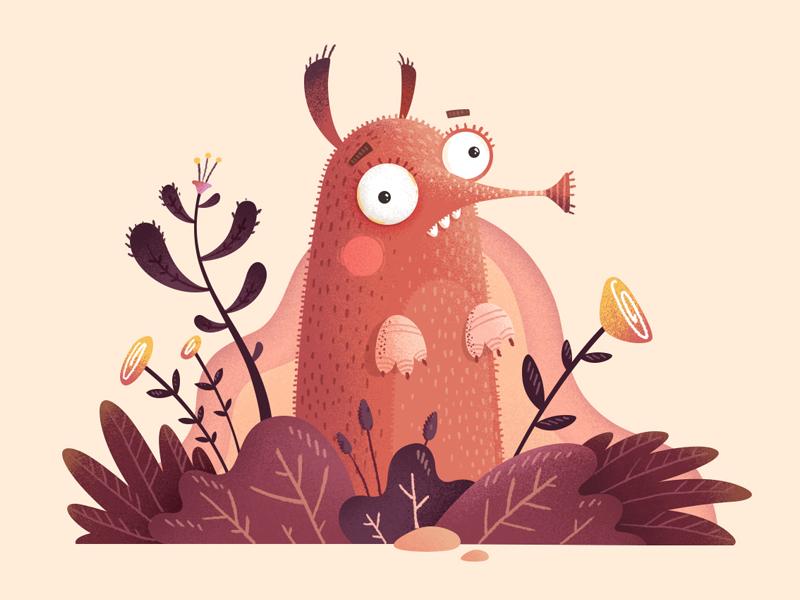 Shrewmouse ground noise texture animal mouse design character illustration fireart studio fireart