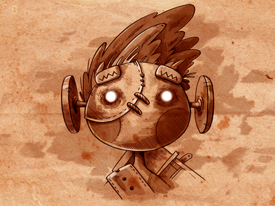 Spirit Roots character old 2d steam gartman cover spirit game fireartstudio fireart