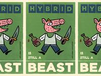 Anti-Hybrid Propaganda Poster