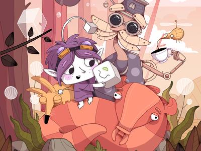 TOHU Game Promo illustration
