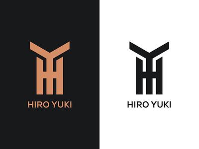 HIRO YUKI illustration business design branding monogram logo graphicdesign company monogram logos logo