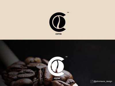 C + COFFEE artwork monogram logo business branding design graphicdesign company monogram logos logo