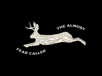 Fear Caller - The Almost Tribute Flag illustration fear caller rabbit flag