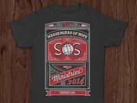 SOS Ministries 2014 Team Shirt