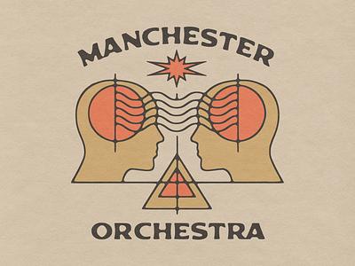 Manchester Orchestra - Shirt Design band tshirt spark head human telepathy shirt design band merch manchester orchestra