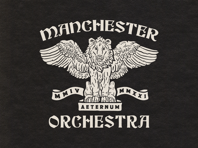 Griffin - Manchester Orchestra patch tshirt shirt design band merch merch design band design hat patch manchester orchestra