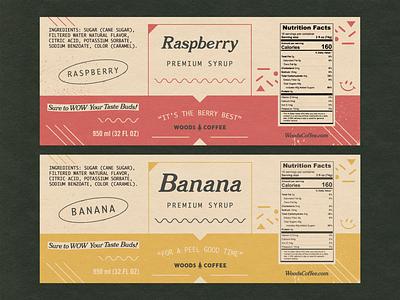 Labels - WIP fruit coffee coffee label packaging label