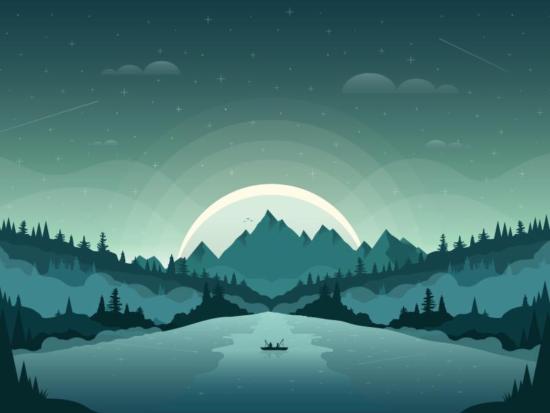 midnight fishing by andrew berkemeyer