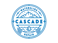 Cascade Waterslide Repair Badge