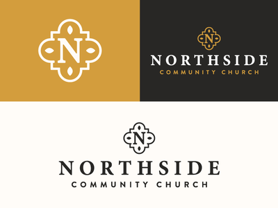 Northside Church - Final Logo seal flower branding brand rebrand northwest n icon badge church mark logo