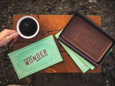 Chocolate - Season Of Wonder mark logo branding coffee packaging promotion holiday woods coffee chocolate