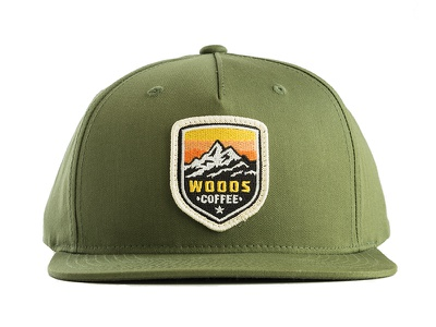 Woods Coffee - Snapback cap ball snapback product mark logo badge patch hat
