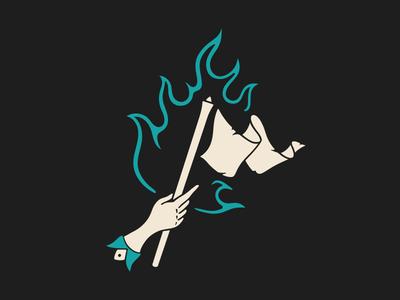 Burn The White Flag - Permanent Records