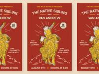 Wild Buffalo - Show Poster