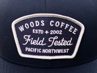 80d64c8a 1 Attachment. Badgewc. Simple hat patch I designed for Woods Coffee's  Summer merch ...