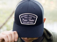 Woods Coffee - Hat Patch