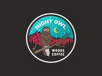 Night Owl - Sticker