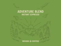 Explore The Woods - Wool Five Panel Hat by Andrew Berkemeyer ... 665e22f40c8f
