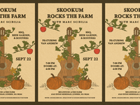 Rocks The Farm - Poster Design
