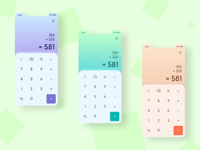 Daily UI Challenge - Day 4: Calculator