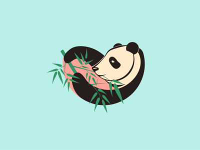Daily Logo Challenge: Day 3 - Panda bear