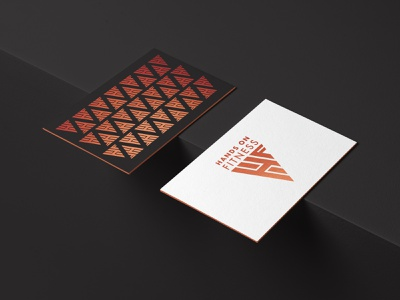 Hands on Fitness foiling foil stamp geometry geometric design gym logo sports sports logo healthy nutrition personal trainer personal branding personal logo branding design logos branding logo design logodesign logo brand identity brand