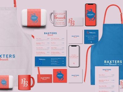 Baxters Brunch Visual Identity food and drink brunch type art typography branding and identity branding concept identity designer identity design identity branding visual identity type logotype logos branding design logo design branding logodesign logo brand identity brand