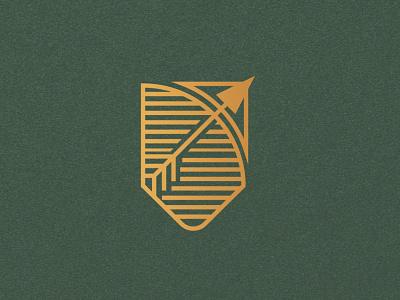 Greek Gods, Artemis Badge goddess artemis archery bow and arrow olympic games olympic badge logo mark mark marks logomark ui design branding design logo logodesign brand branding brand identity illustration