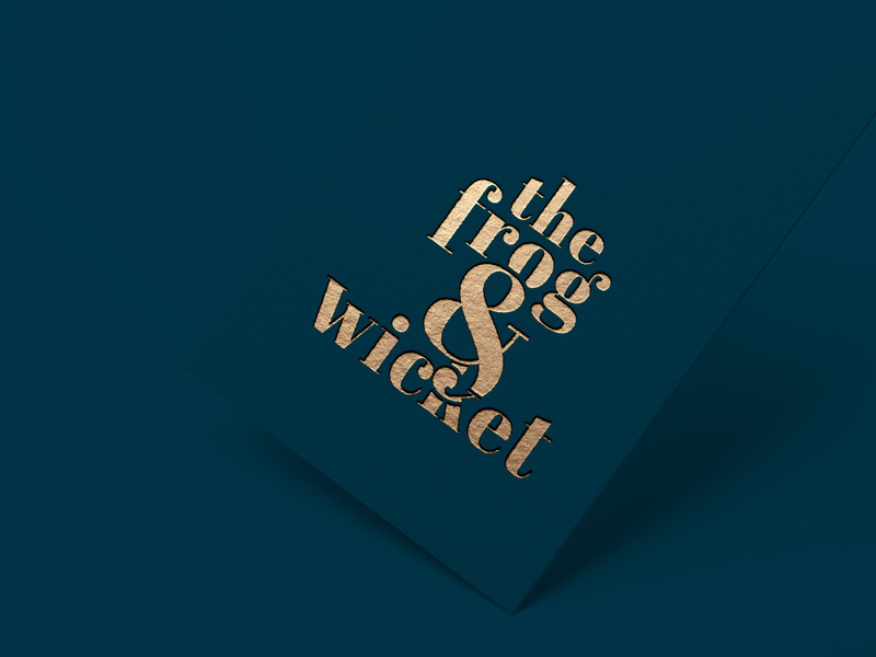 The Frog & Wicket Branding and Identity