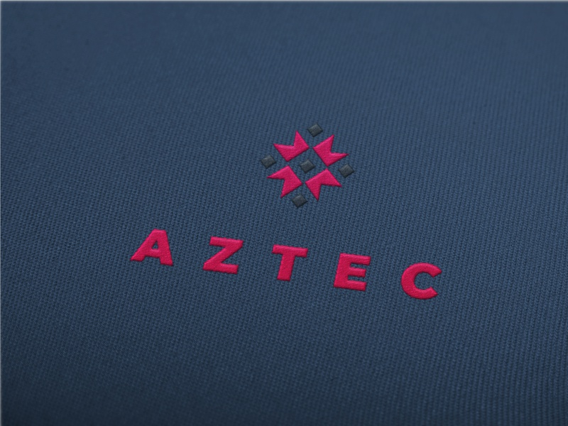 Aztec Embroidered Logo