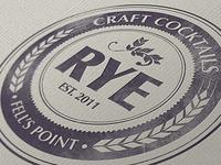 Rye Bar Logo