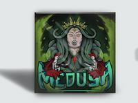 Medusa illsutration cd knight medusa cover artwork album cover digitalillustration wpap illustration album cover