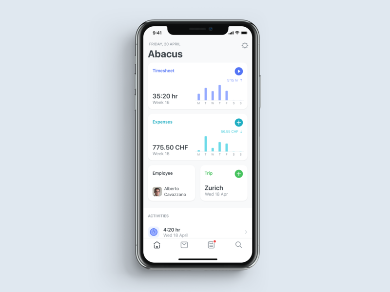 Dashboard icon app ui