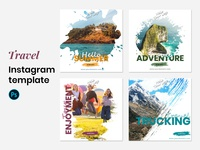 Travel Instagram Template