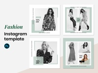 Fashion instagram template