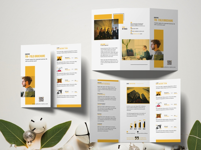 Business Brochure (Bi & Tri-Fold)