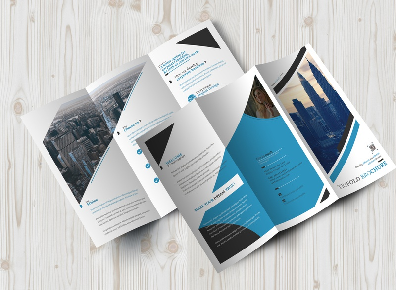 Tri Fold Brochure Design Bundle