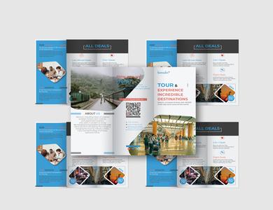 Travel Tri Fold Brochure Design