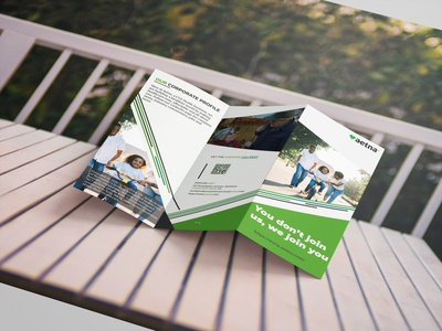 Health Insurance tri-fold Brochure