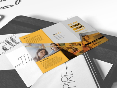 Business Trifold Brochure 2020