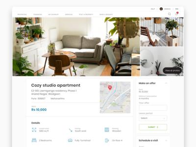 Property rental platform shot 1
