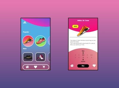 App Design Shoes