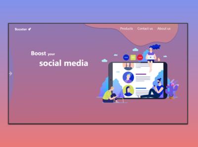 Simple Web Design Concept