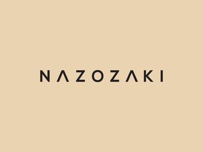 Nazozaki / logo design
