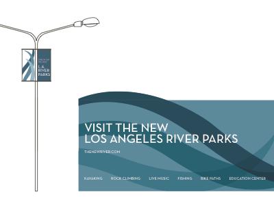 Los Angeles River Wayfinding & Signage