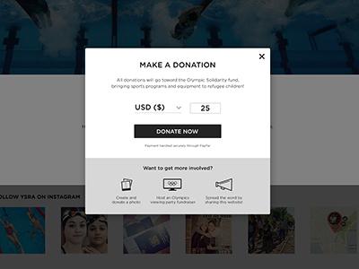 Donation Modal