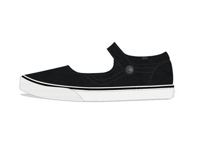 Bloom x Vans Footwear Design