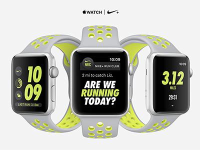 Apple Watch Nike+ NRC App
